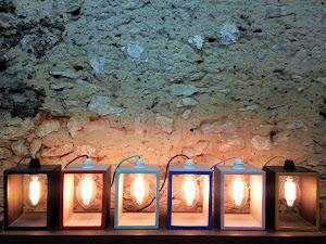 lampe béton ciré creuse junny