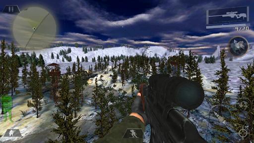 Commando mission secrète Prise de vue 3D  code Triche 1