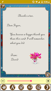 Design Thank You Greeting Card - náhled