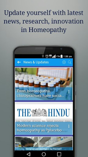 HomeoApp screenshot for Android