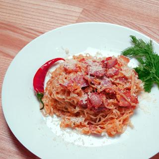 Pasta Carbonara ( Ramen )