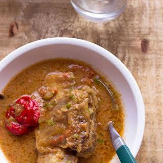 African Beef Peanut Stew.