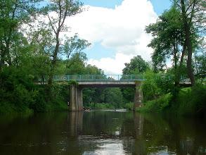 Photo: pod tym mostkiem też były wywrotki