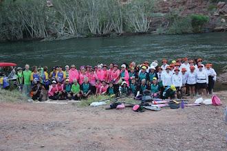 Photo: Pendragons in Kununurra - paddlers are ready! Photo: Ave Gassman of Kununurra Dragon Boat Club