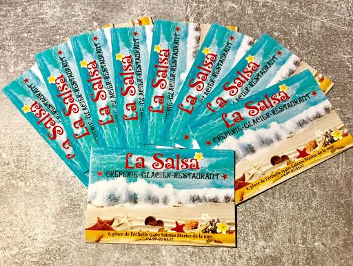 cartes de visite La Salsa
