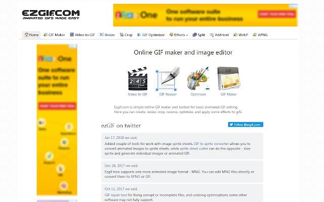 Animated GIF Maker & GIF Editor