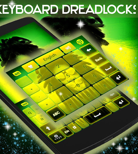 無料个人化Appのドレッドヘアのキーボード|記事Game