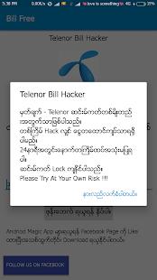 Telenor Bill Free - náhled
