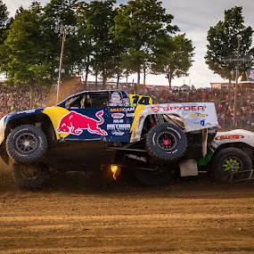 Backing In by Kenton Knutson - Sports & Fitness Motorsports ( racing, offroad, dirt )