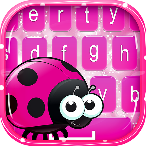 Cute Ladybug Keyboard & Emoji