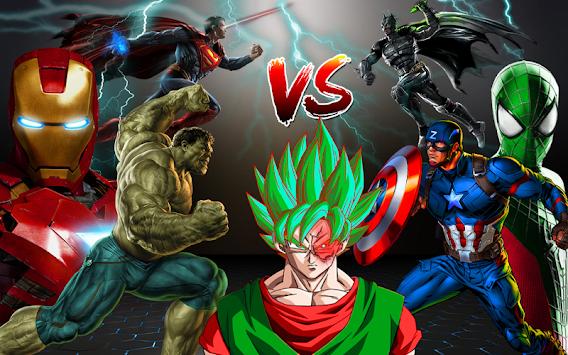 Real Superheroes Fighting: Kungfu Battle apk screenshot