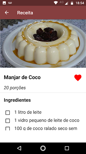Foto do Receitas de Doces e Sobremesas