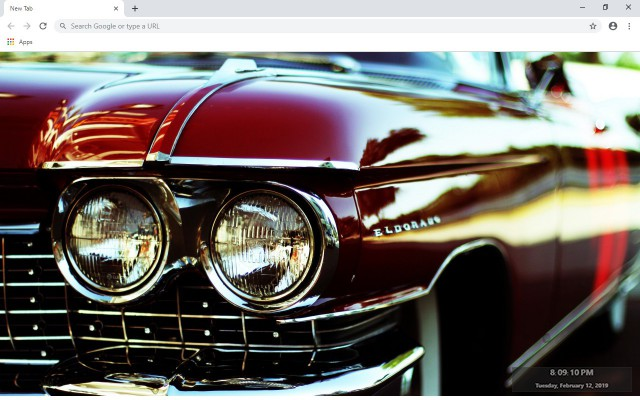 Cadillac Eldorado New Tab