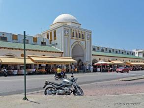 Photo: Rhodos stad. Nieuwe markt.