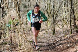 Photo: Course hors stade  22/03/2014  Trail des Trois Chapelles Bains-sur-Oust  15 km  Jean-Pierre Richomme  Bruz Athlétisme