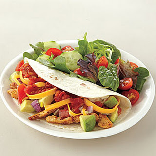 Chicken Soft Tacos.