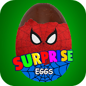 Surprise Eggs Spider