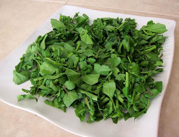 Spicy Minced Watercress
