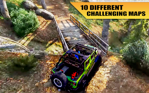4x4 Suv Offroad extreme Jeep Game screenshots 8