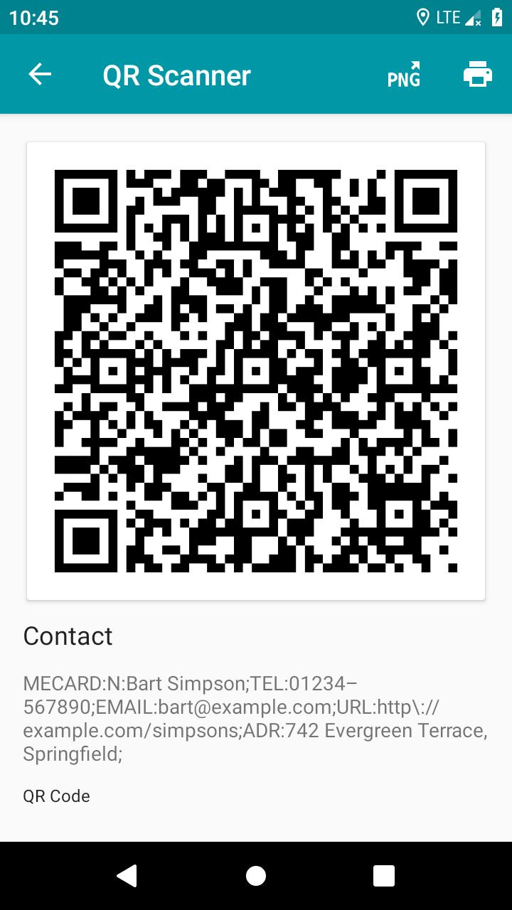 QR & Barcode Reader (Pro) Screenshot 3