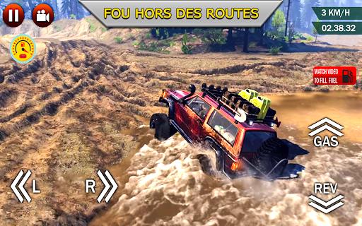 Code Triche hors route xtreme 4X4 se rallier courses chauffeur APK MOD screenshots 4
