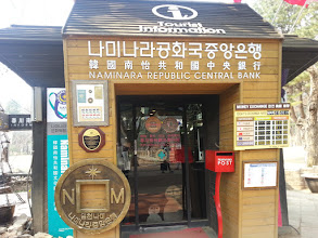Photo: Naminara Republic Central Bank (in reality, Tourist Information Center)
