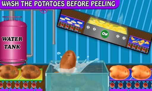 Crispy Potato Chips Maker Factory u2013 Snacks Making 1.0 screenshots 5