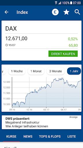 Börse & Aktien - finanzen.net  screenshots 2
