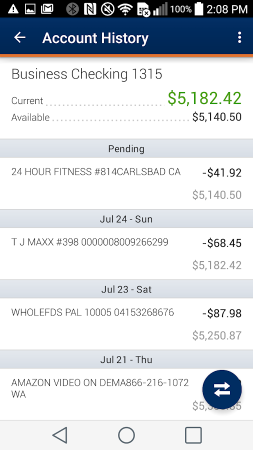 BancFirst Mobile Banking- screenshot