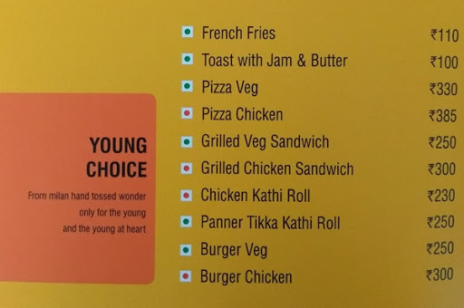 Square Meal - Hotel Ginger menu 2