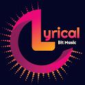 Lyrical Bit Music : Photo Video Status Maker icon