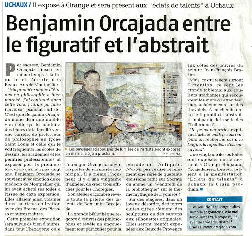 Reportage sur Benjamin Orcajada