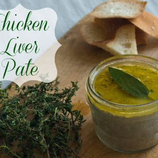 Easy Chicken Liver Pate