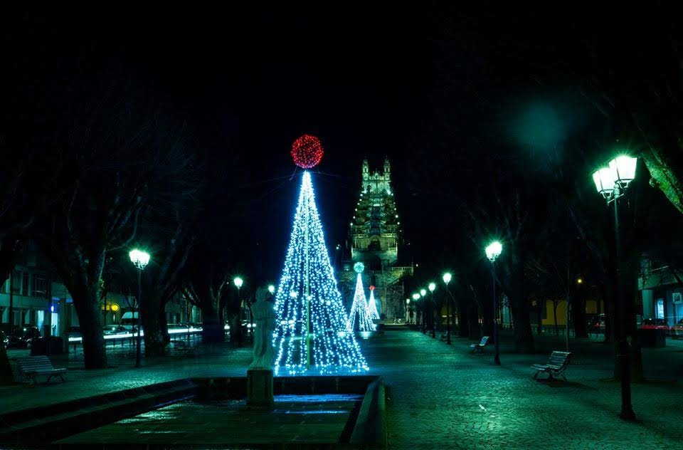 Espírito de Natal já brilha na cidade de Lamego