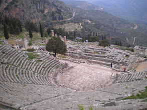 Photo: Theatre of Dionysis, Delphi