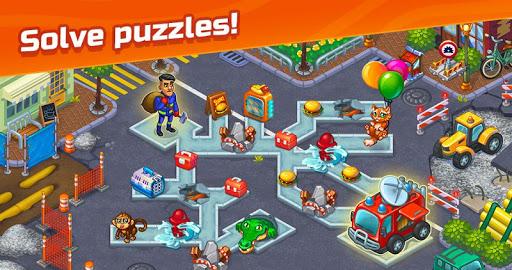City Rescue Team: Time management game apkpoly screenshots 6