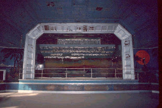 Photo: The Grand Ballroom Stage where many big bands played and famous people gave speches.
