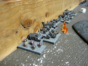 Photo: They face off against CaptPiett's (Matt) Black Legion.
