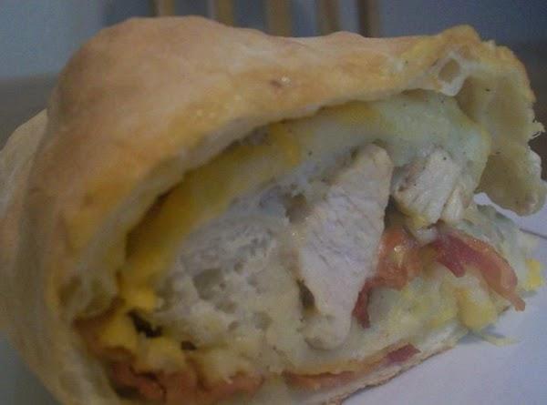 Chicken Bacon Ranch Bread Recipe