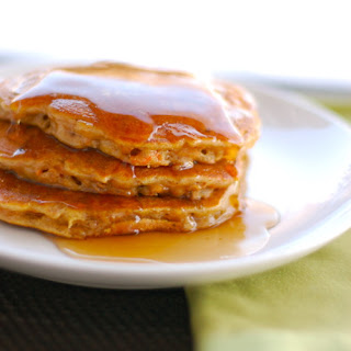 Cinnamon Apple Carrot Pancakes.