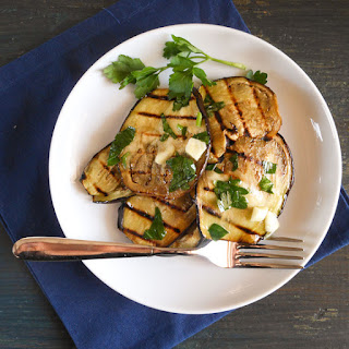 Grilled Eggplant.