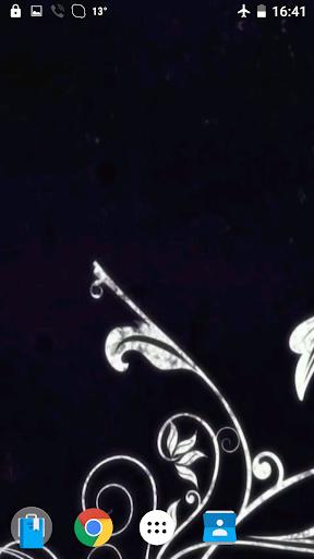開花ライブ映像を壁紙