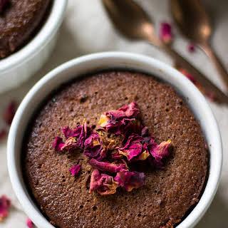 Healthy Almond Chocolate Mug Cake.