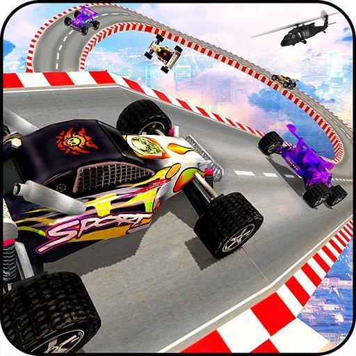Formula Sky High Car Stunts Racing 3D