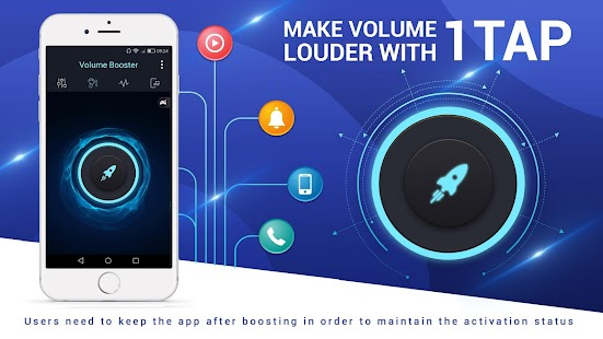 Volume Booster and Equalizer- screenshot thumbnail