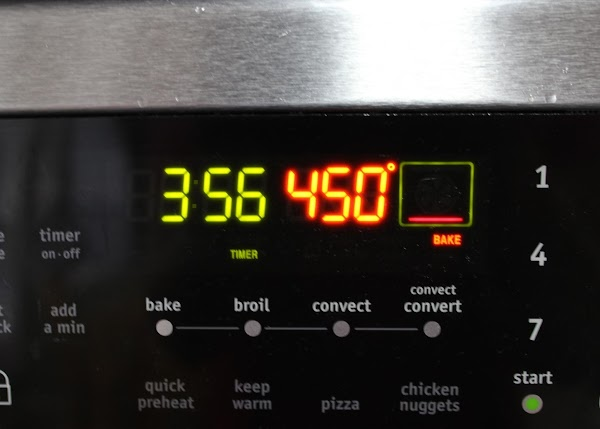 Preheat oven to 450 degrees.