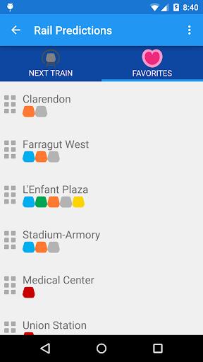 DC Metro Transit Info - Free screenshot 2