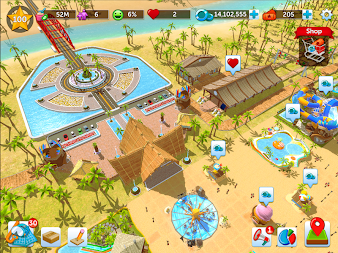 RollerCoaster Tycoon Touch APK screenshot thumbnail 1