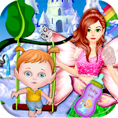 Fairy Mommy Gives Birth