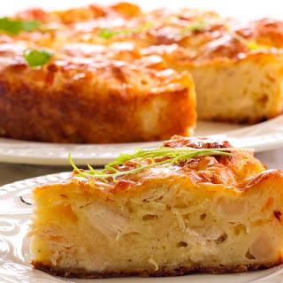 Chicken Cauliflower Quiche